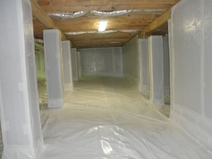 Crawl Space Encapsulation Ulb Dry Waterproofing Lombard