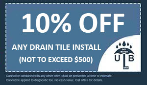10% Off Any Drain Tile Install